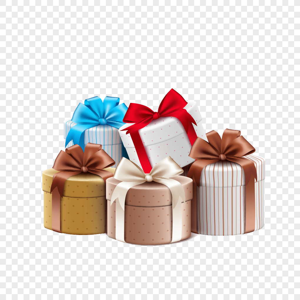A Pile Of Birthday Gifts Png Image Picture Free Download
