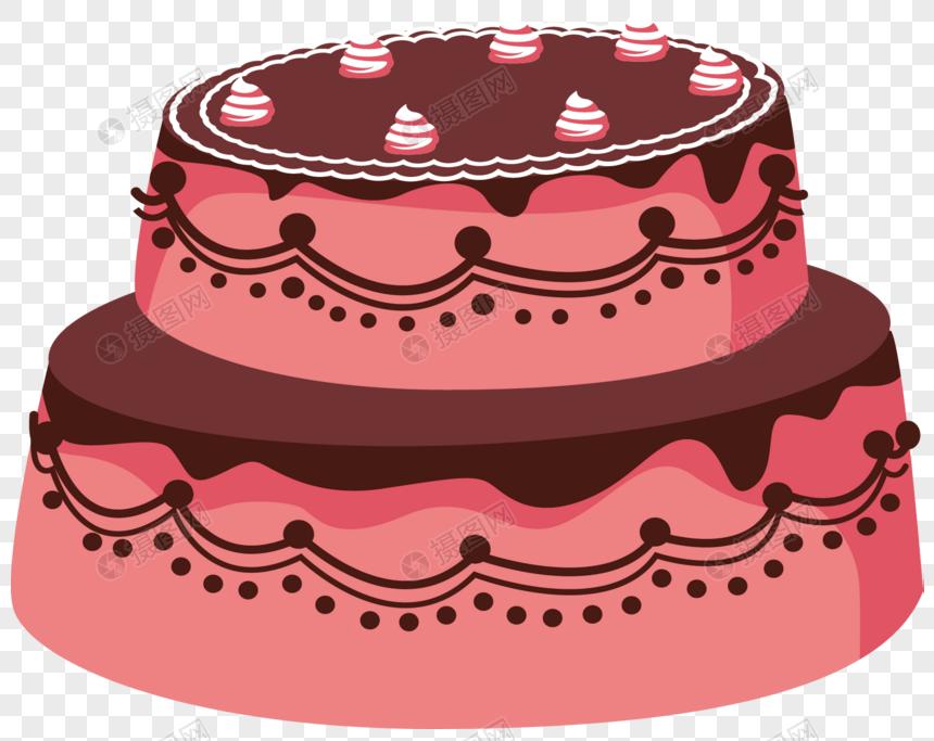 Pastel De Dibujos Animados Imagen Descargarprf Gráficos