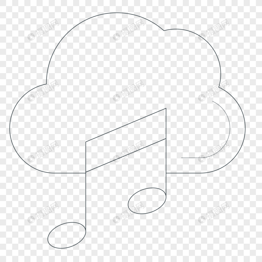 Sketch music symbols png image_picture free download