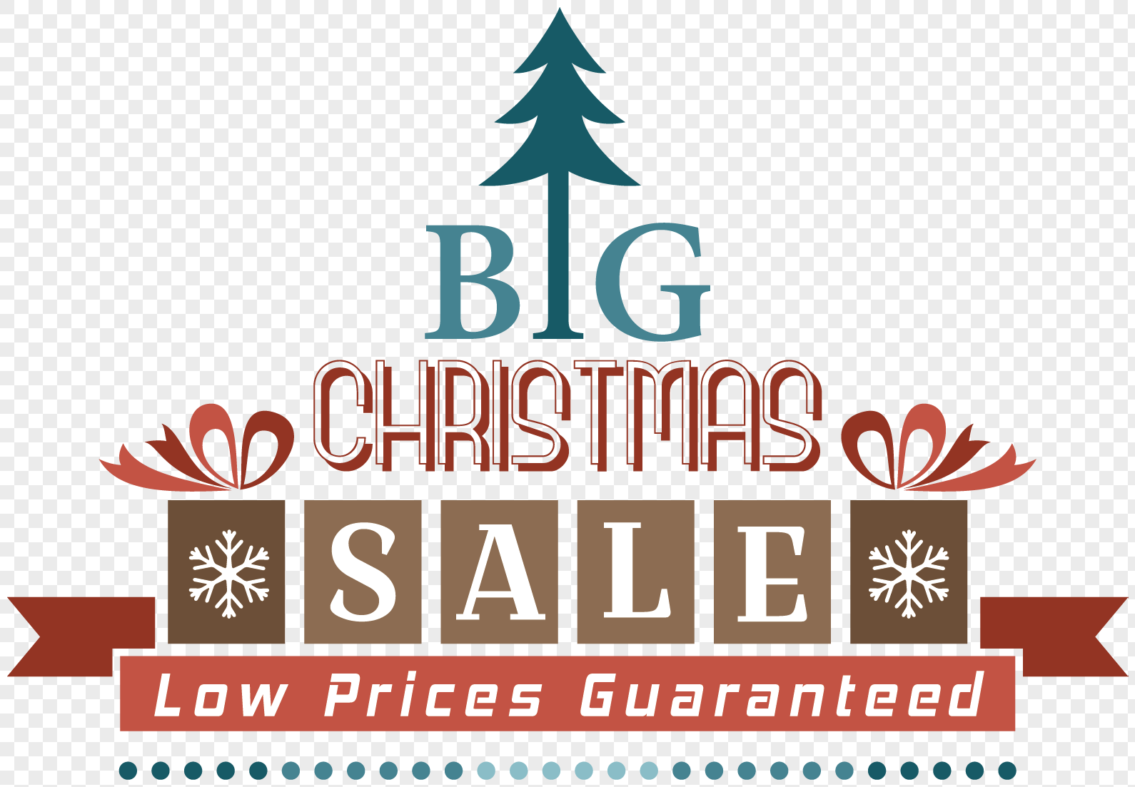 Christmas tree modelling promotion label png image_picture free ...