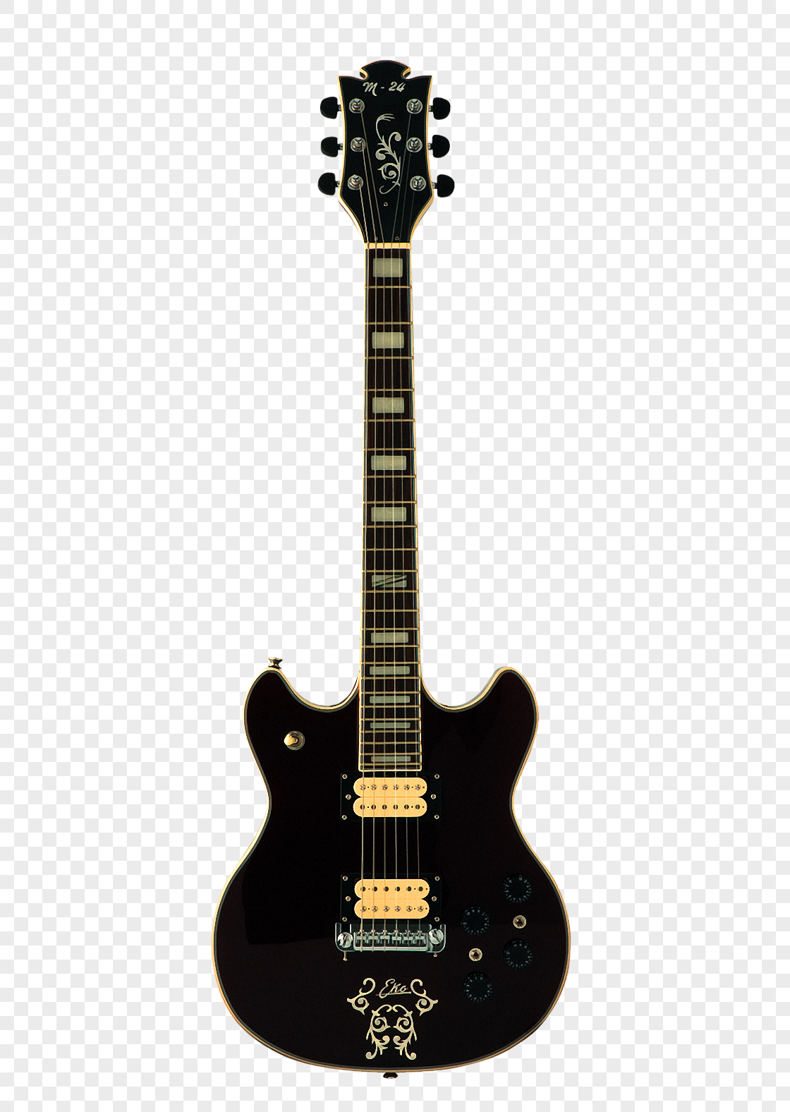 Black Electric Guitar Png Image Picture Free Download