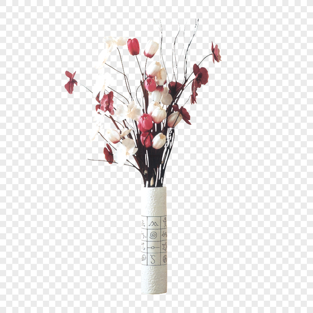 beauty vase flower arrangement png image picture free download