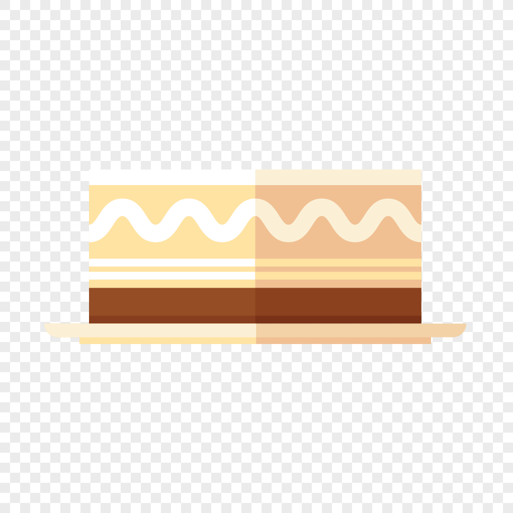 Flat Birthday Cake Design Material Graphics Imagepicture Free