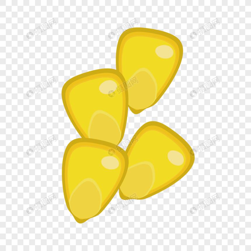 cuatro granos de maíz superpuestos Imagen Descargar_PRF