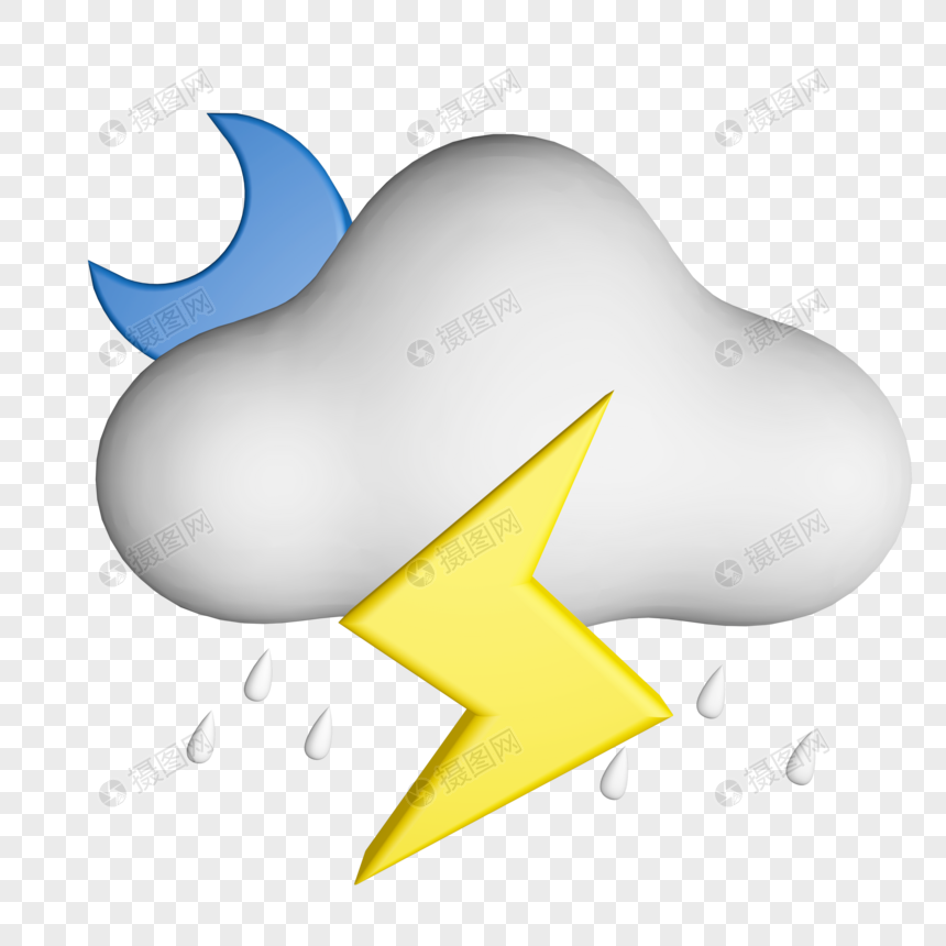 c4d weather little icon png