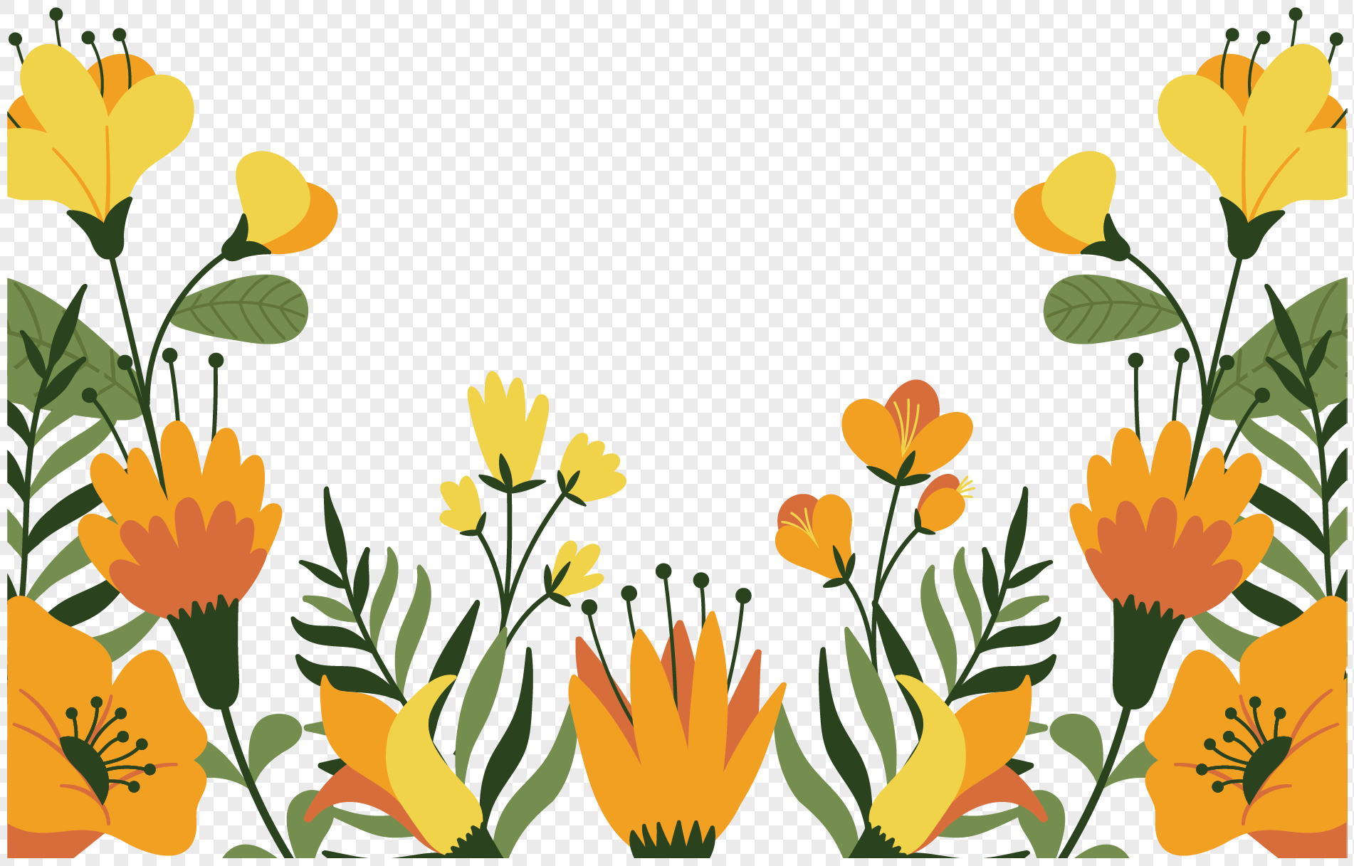 Beautiful yellow flowers png imagepicture free download beautiful yellow flowers izmirmasajfo