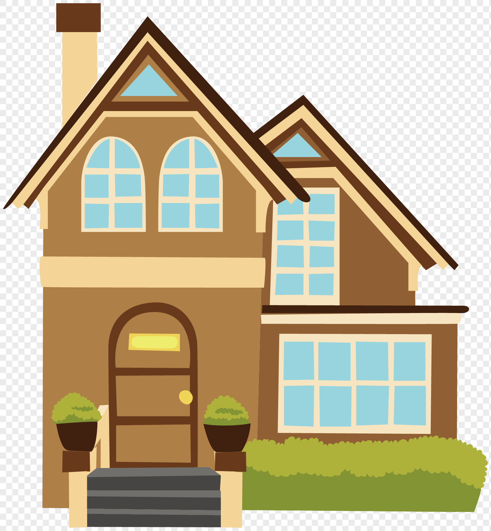 Intellectual Property Cartoon: Cartoon Villa Png Image_picture Free Download 400650322