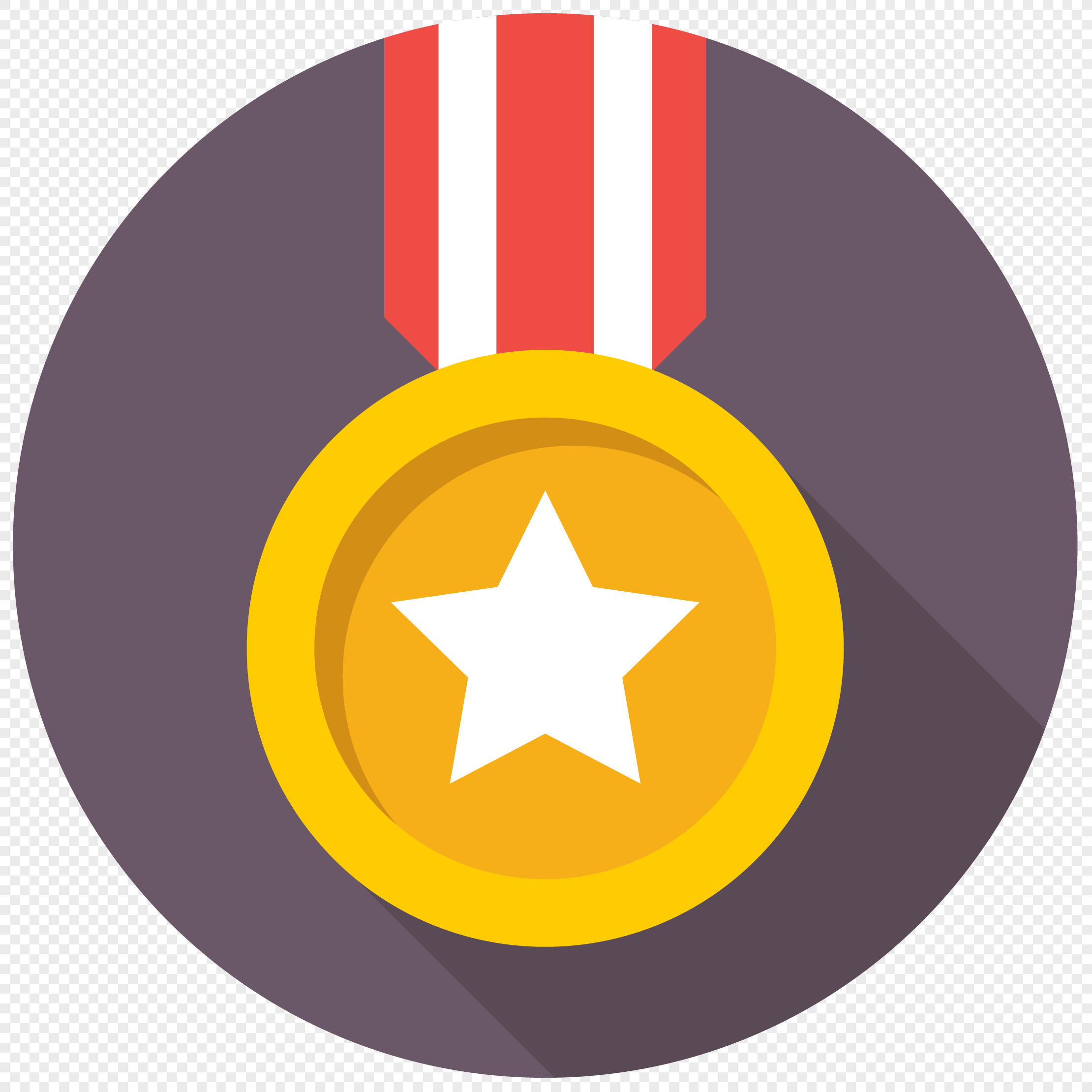 Gold medal icon png image_picture free download 400681791 ...