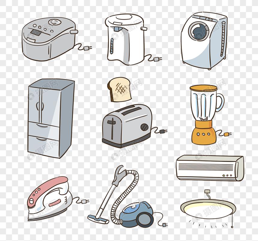 78+ Gambar Alat Rumah Tangga Kartun Gratis Terbaru