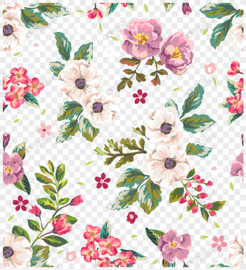 Floral Background Png Free Download