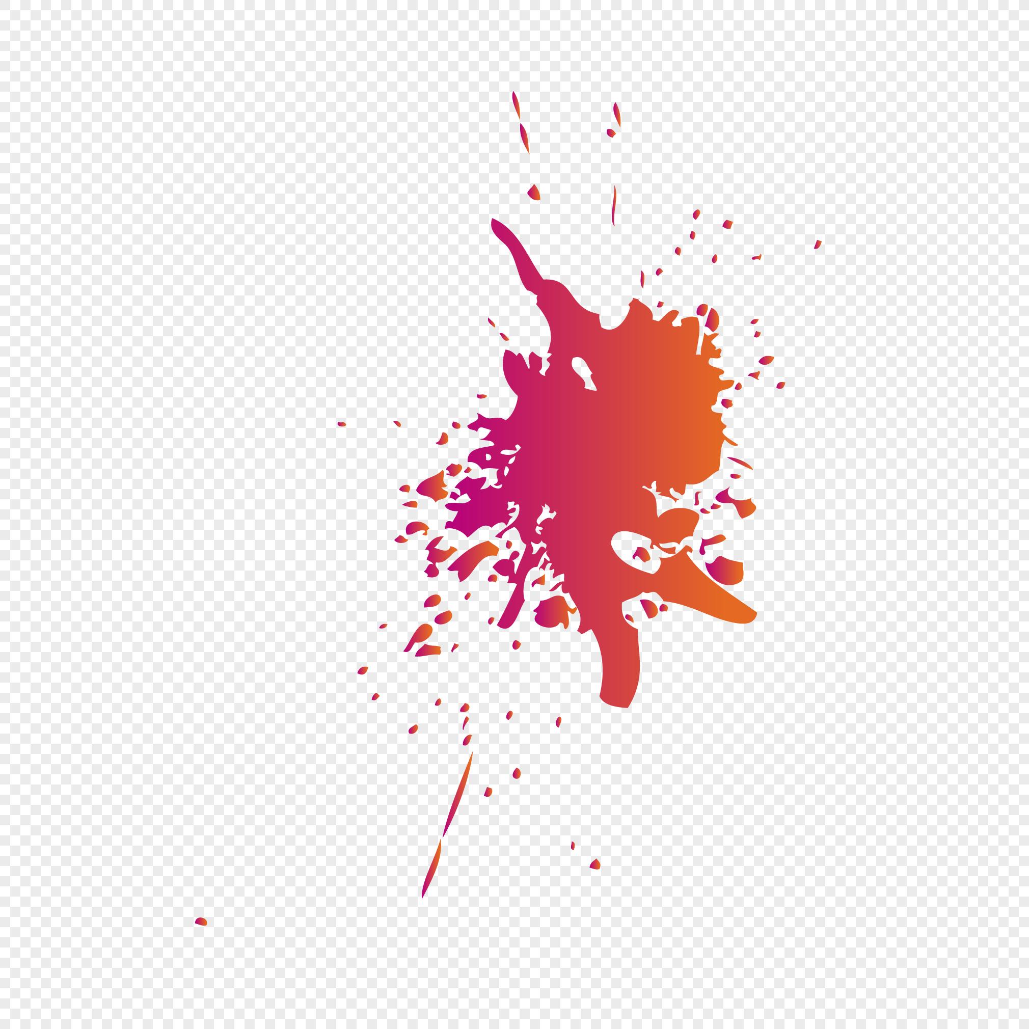 Color splash royalty-free paint splash png download 2244*2195.