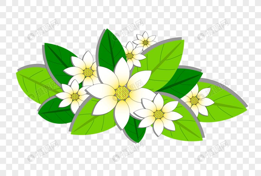 Diseno De Flores De Dibujos Animados Imagen Descargar Prf Graficos