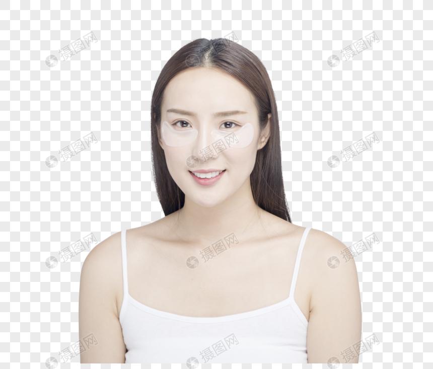 máscara de olho feminino png