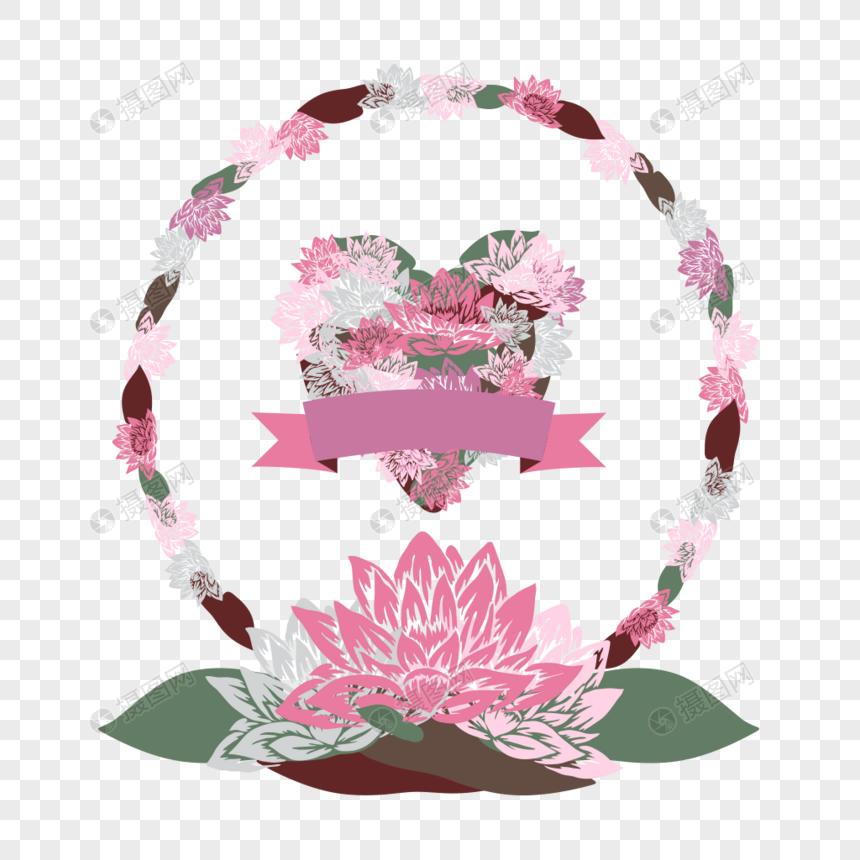 Decorative Flower Border Frame Png Imagepicture Free Download