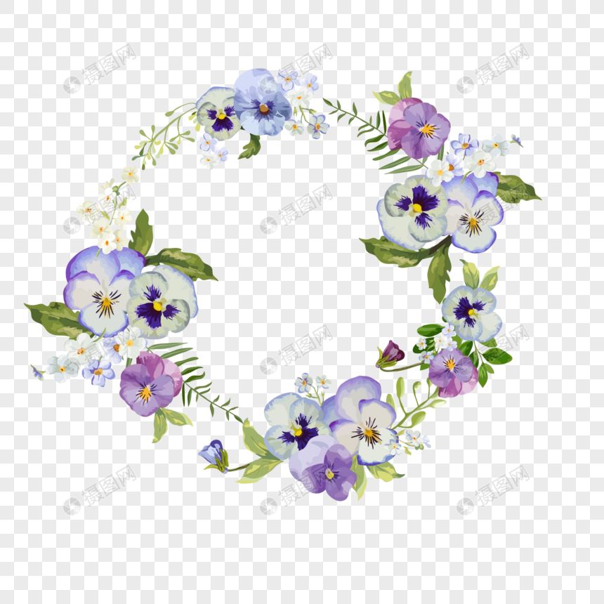 Ring flower border png image_picture free download 400717724_lovepik com