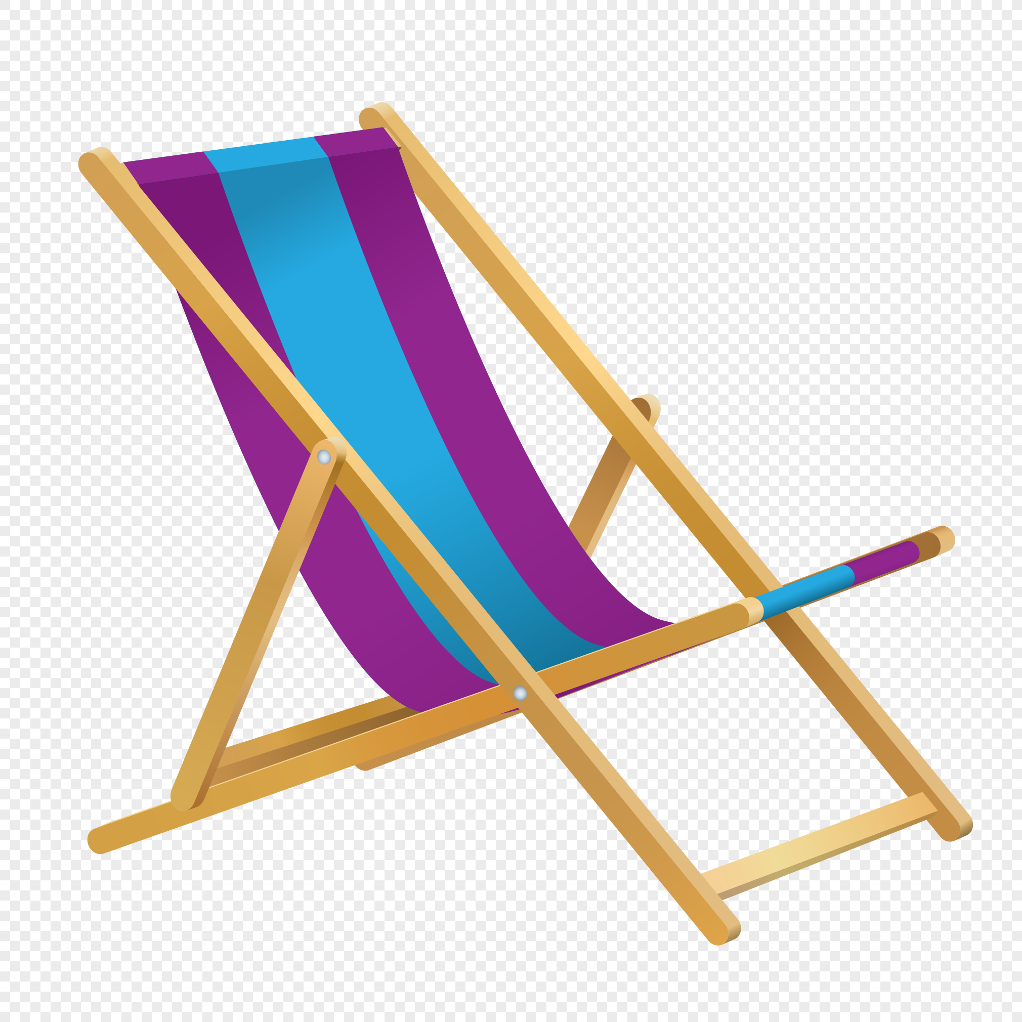 Cartoon beach chair png image_picture free download ...