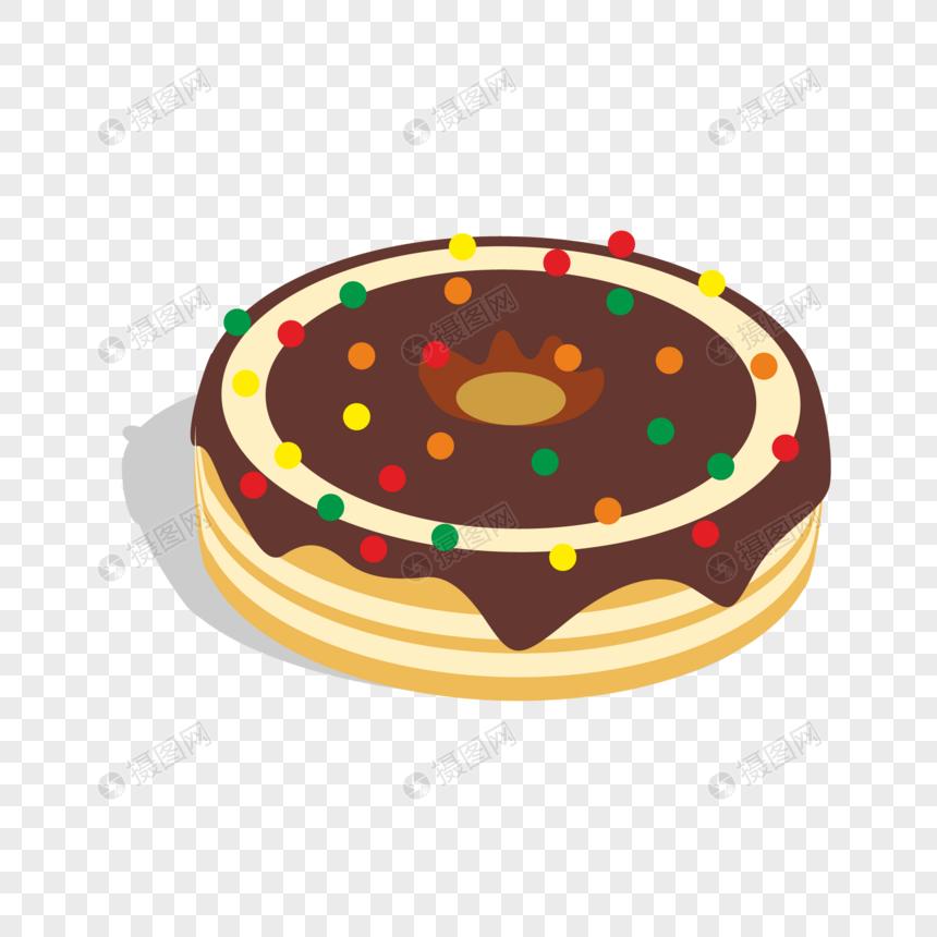 Cartoon Cute Birthday Cake