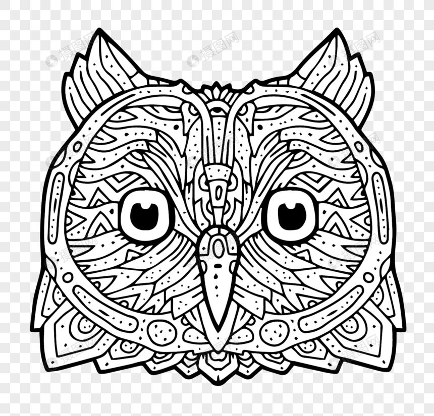 Paling Keren Gambar Dekoratif Hewan Burung Hantu Sketsa Tea And Lead
