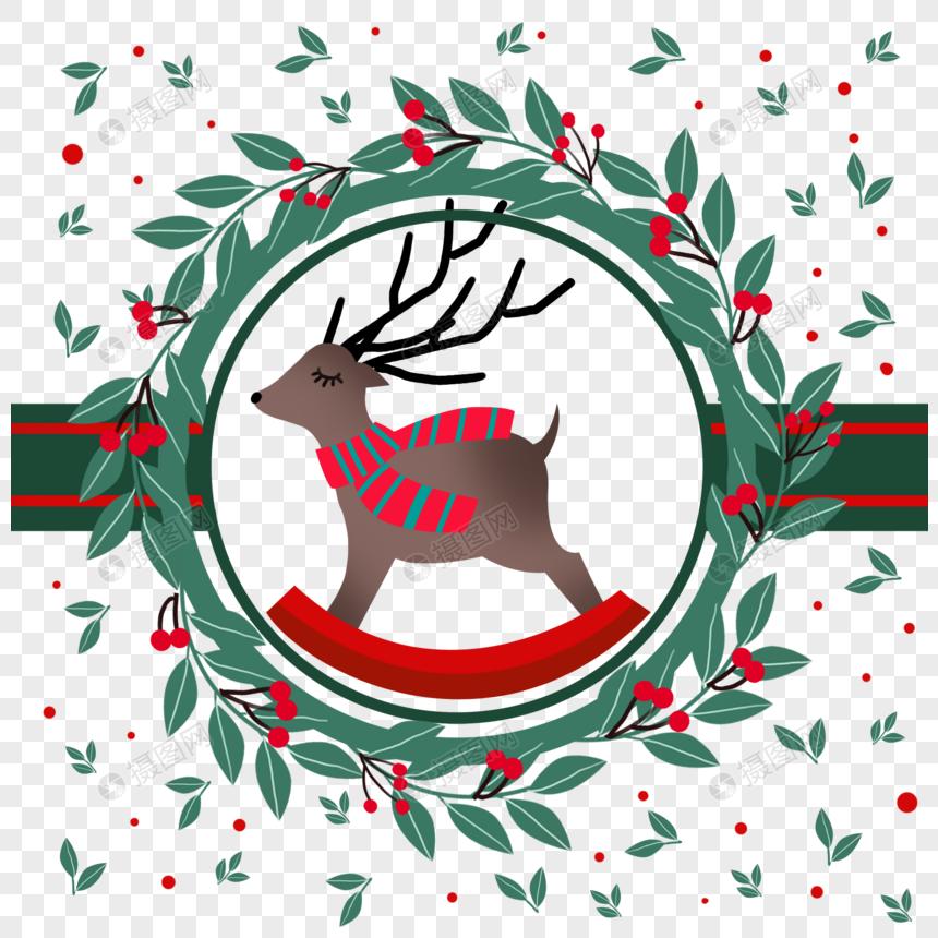 Мультфильм рождественские украшения png