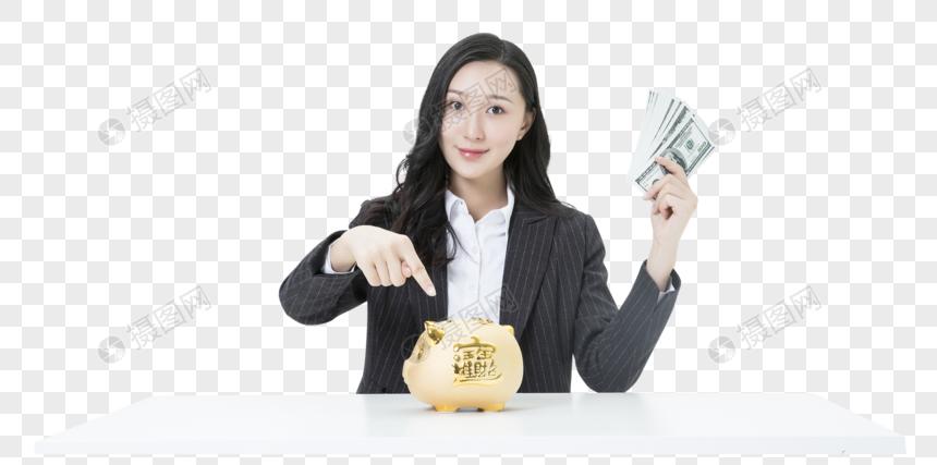 Manajemen Keuangan Wanita Bisnis Png Grafik Gambar Unduh Gratis Lovepik