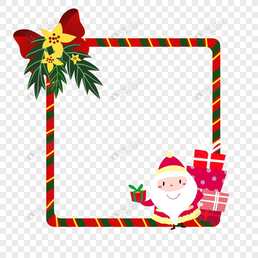 christmas border decoration png