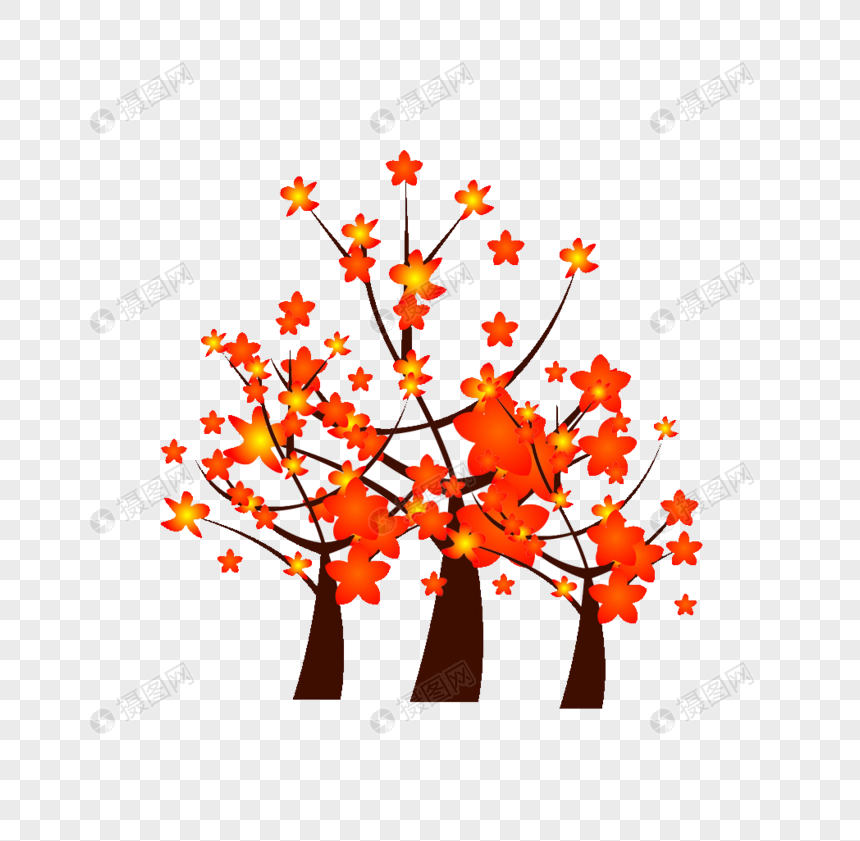 Cartoon kapok tree png image_picture free download
