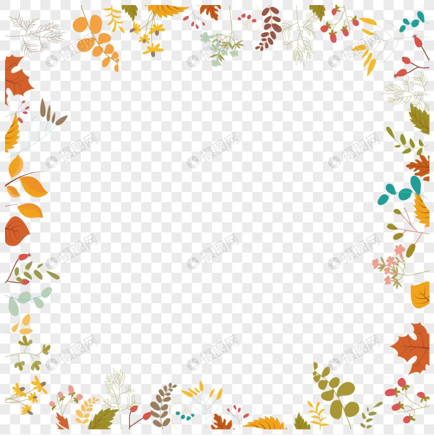 Ilustrasi Vektor Hiasan Perbatasan Bunga Gambar Unduh Gratis Grafik