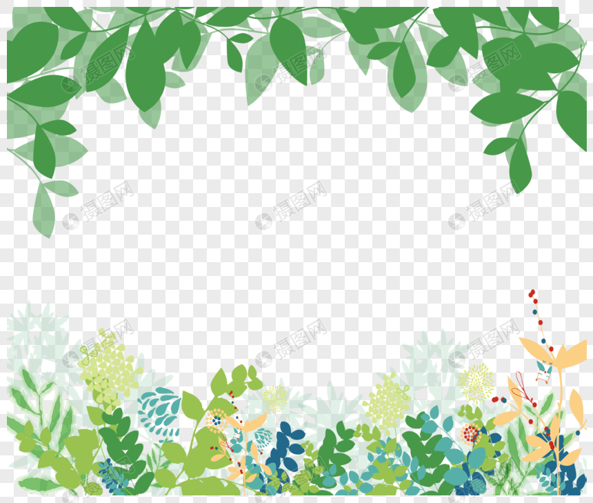 baby clipart green flower border 10 free Cliparts ... |Green Flower Border