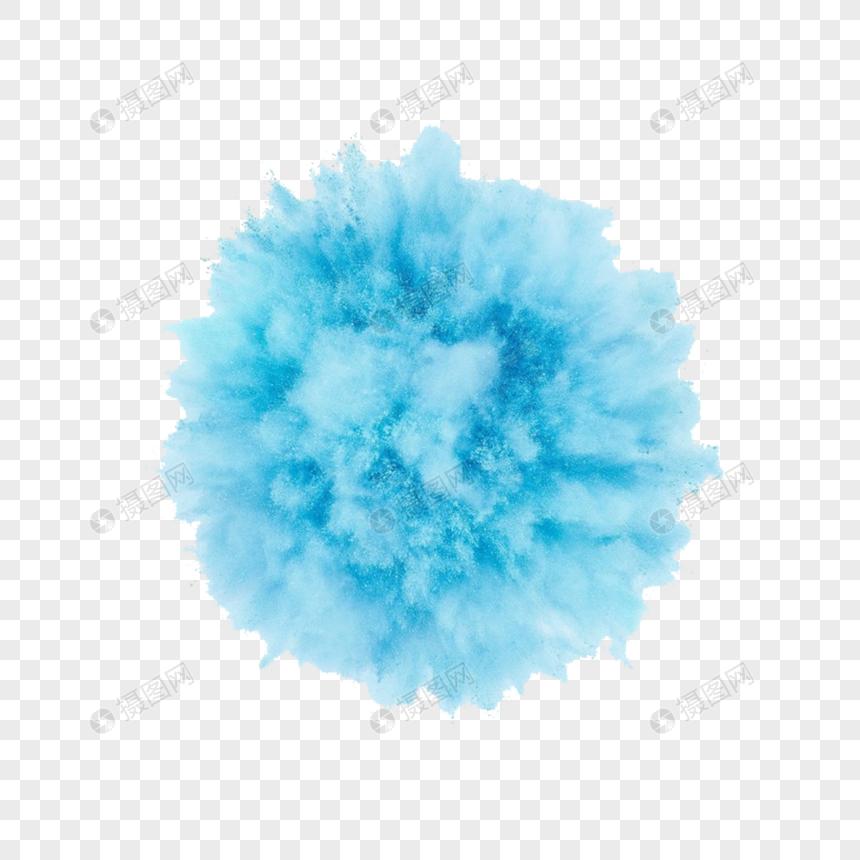 Background Asap Warna Biru - Ika Gambar