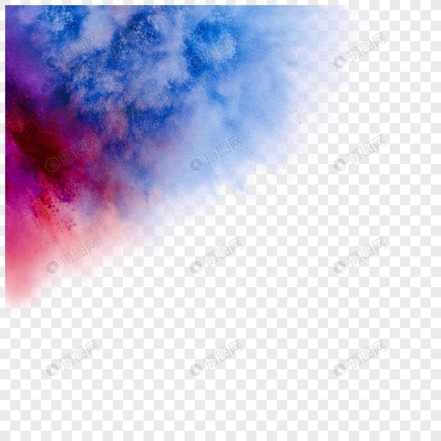 Explosion color smoke png image_picture free download