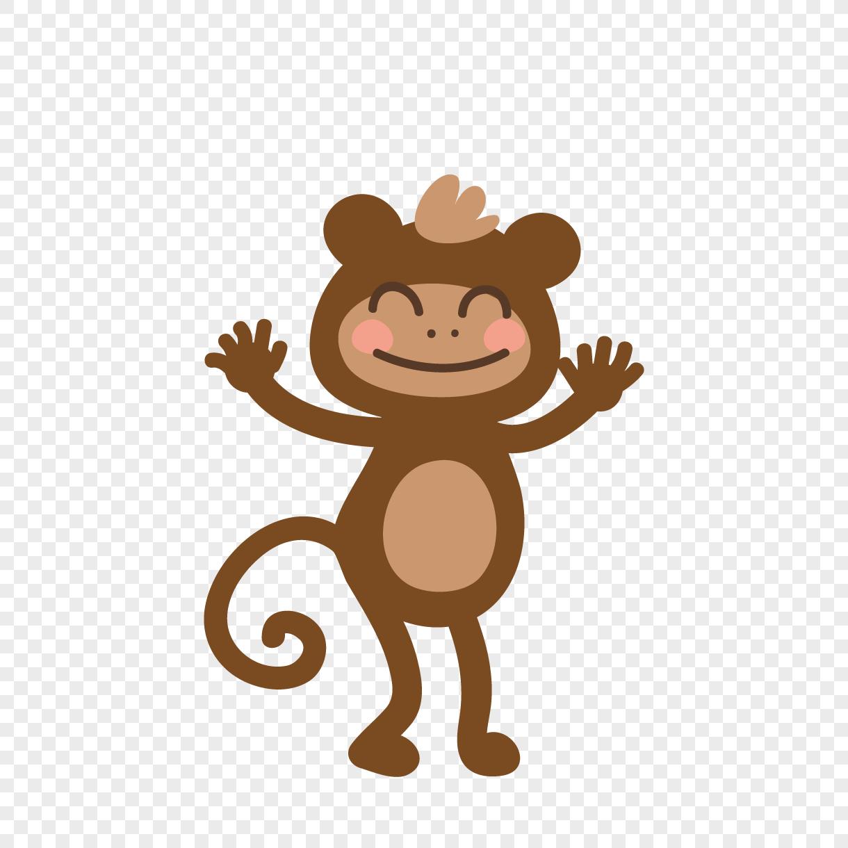 Gambar Monyet Kartun Wwwtollebildcom