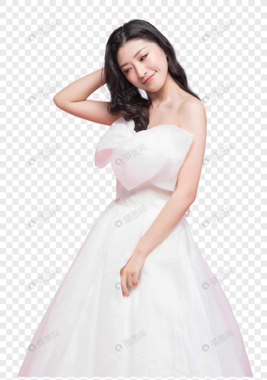 Wanita Cantik Dengan Gaun Pengantin Gambar Unduh Gratis Grafik