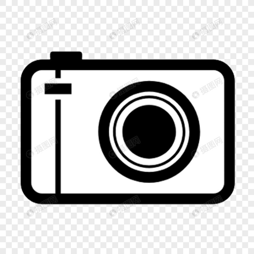 Pola Hiasan Kamera Hitam Dan Putih Kartun Gambar Unduh Gratisimej