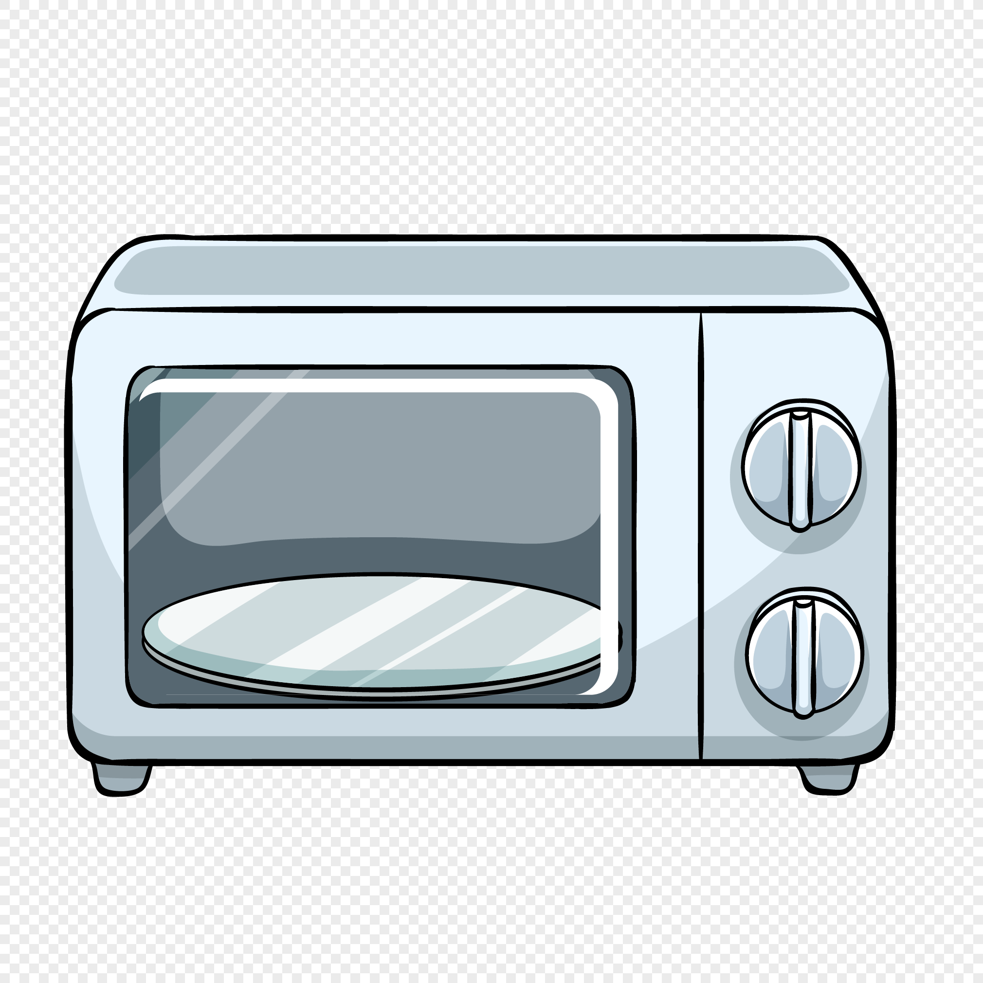 Microwave Oven For Household Appliances Png Image Picture Free