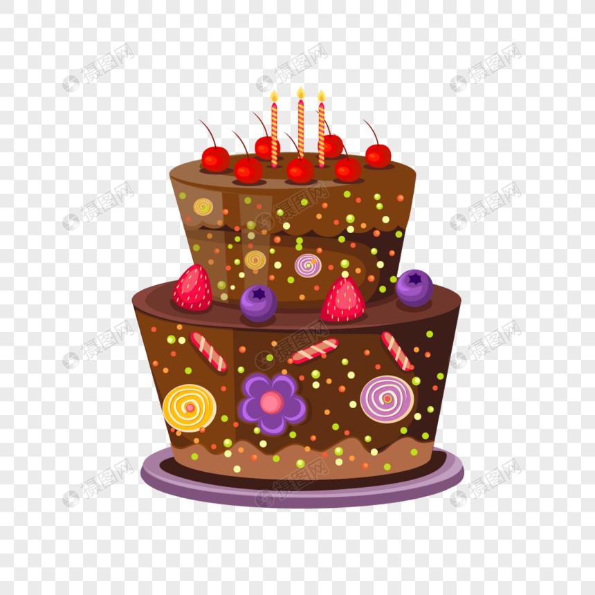 Pastel De Dibujos Animados Imagen Descargar Gráficos 400933798
