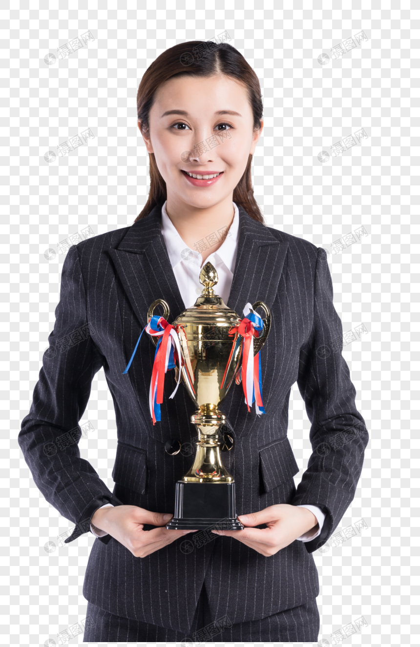 Wanita Bisnis Menang Png Grafik Gambar Unduh Gratis Lovepik