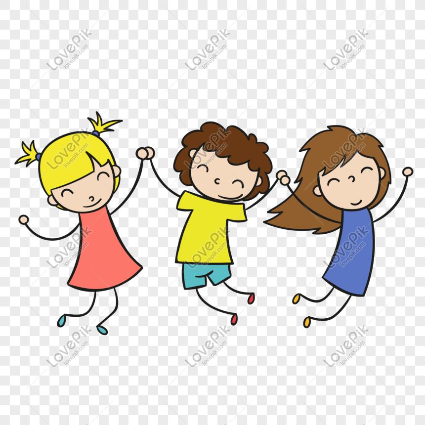 Дети держатся за руки картинки пнг