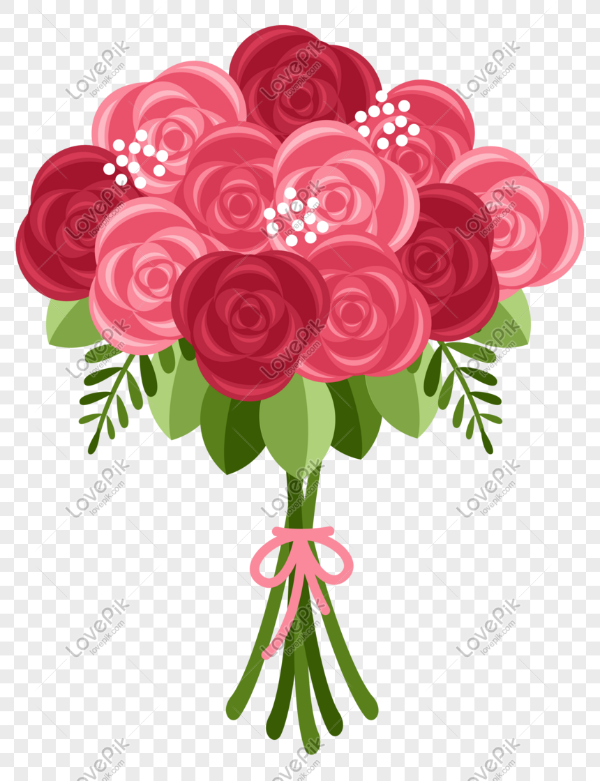 a bunch of roses png