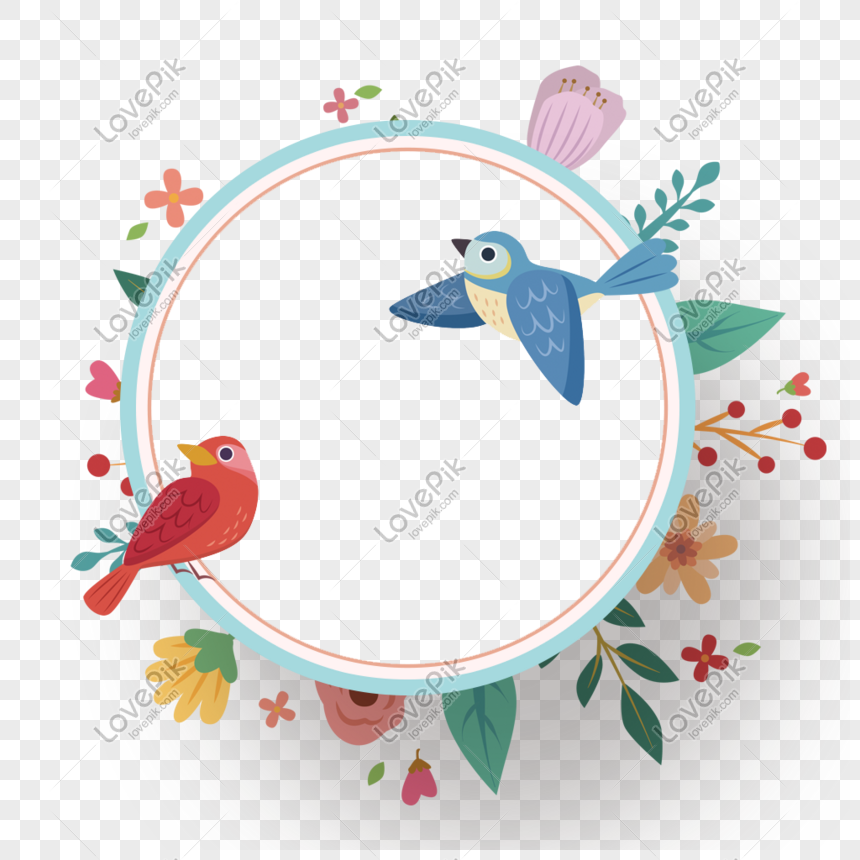 birds twitter and fragrance of flowers png