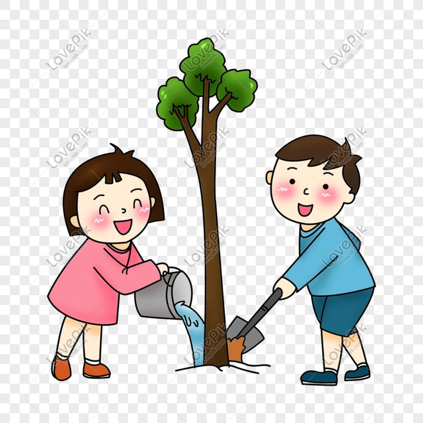 Lovepik صورة Png 401002974 Id الرسومات بحث صور زرع شجرة الطفل