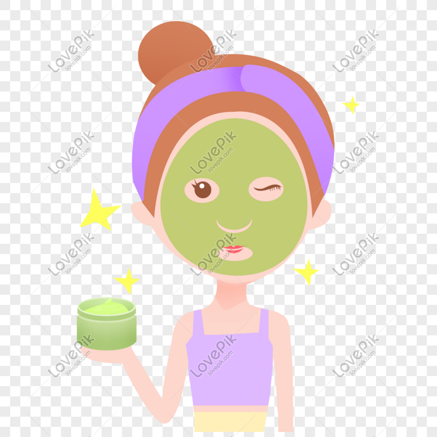 girls who make facial masks png image picture free download 401014077 lovepik com lovepik
