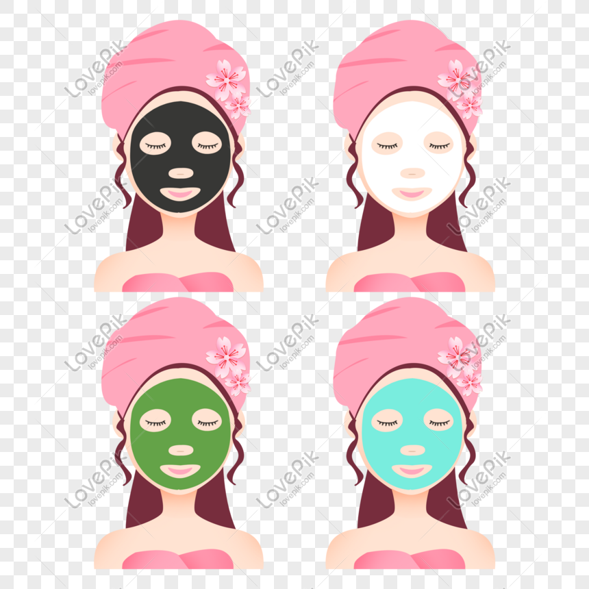 girls who make facial masks png image picture free download 401017715 lovepik com girls who make facial masks png