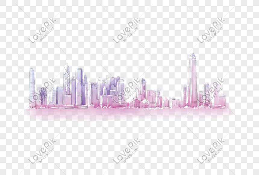 hong kong landmark architecture png