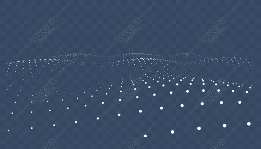 latar belakang seni gelombang partikel 3d
