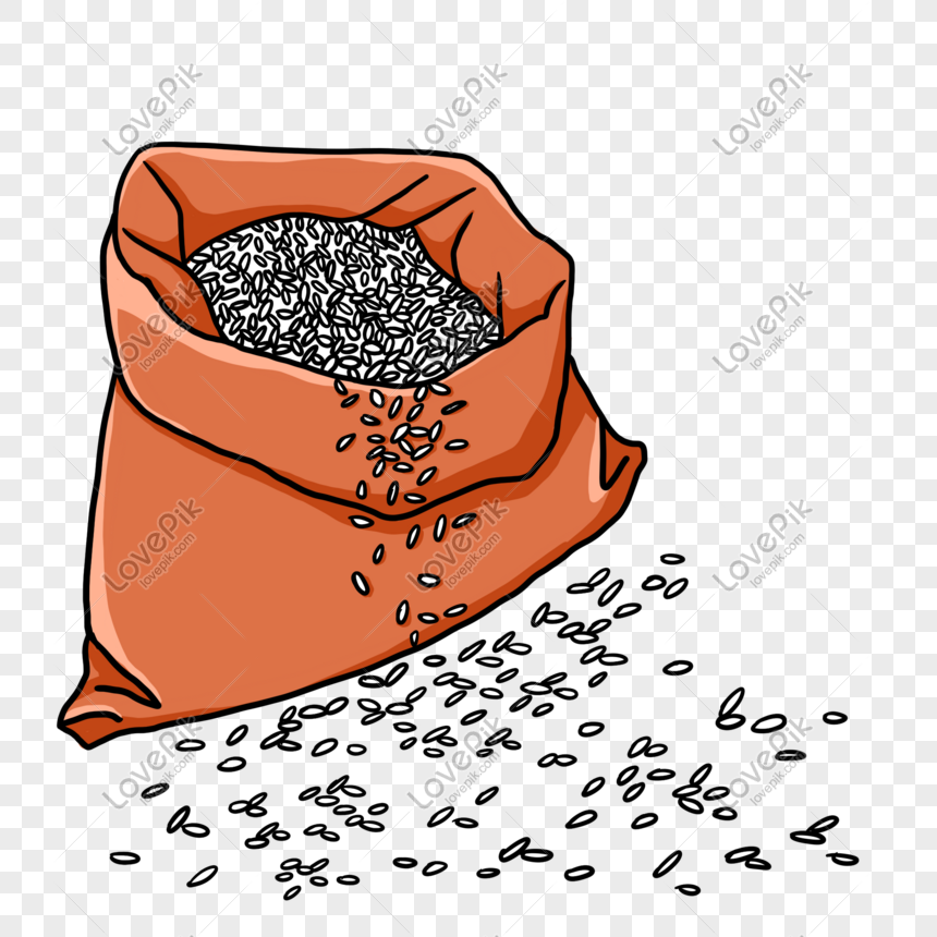 Sprinkle Rice Bags Png Image Picture Free Download