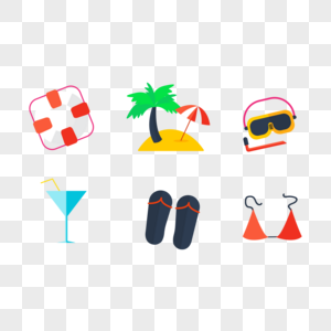 Summer icons png image_picture free download