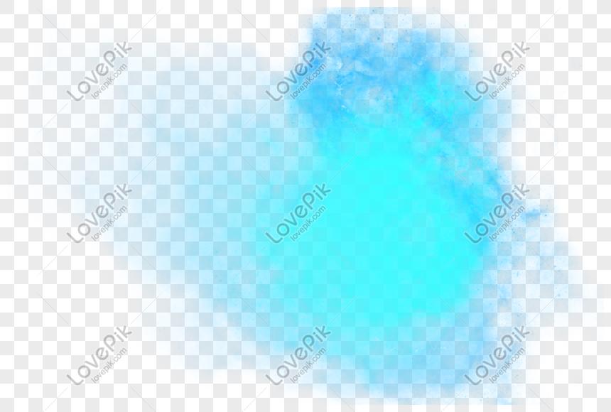 nebula biru