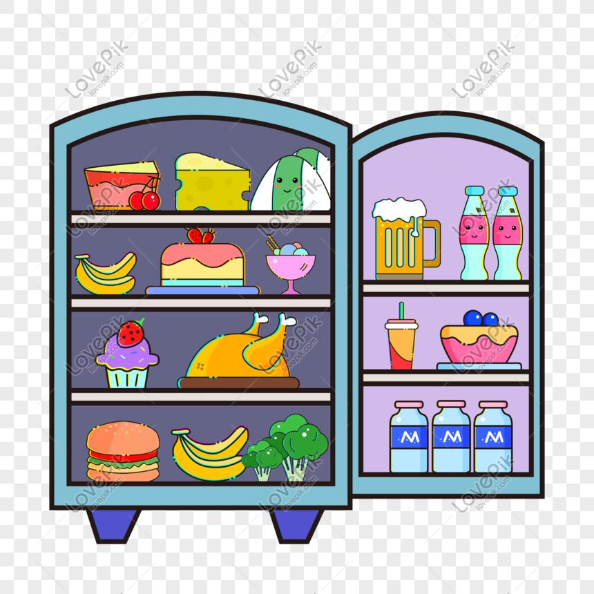 Refrigerador De Dibujos Animados Imagen Descargar Prf Gr U00e1ficos 401054094 Psd Imagen Formato Es