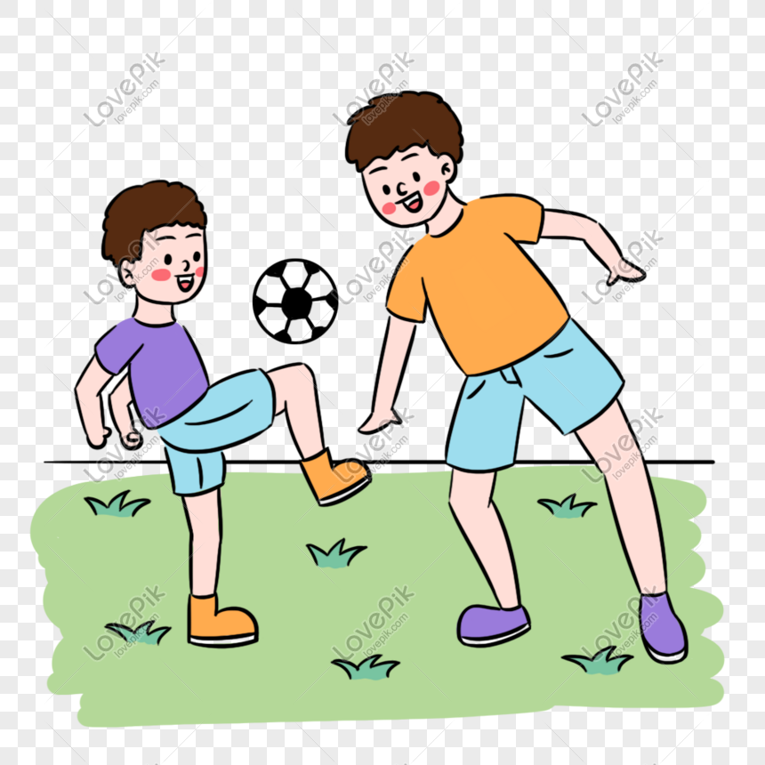 Ayah Segar Dan Anak Lelaki Bermain Bola Sepak Gambar Unduh Gratis Imej 401058388 Format Psd My Lovepik Com