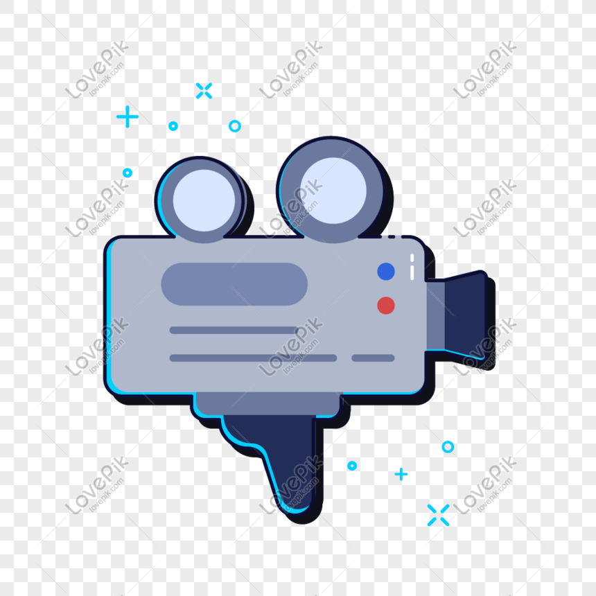 elemen ilustrasi perekam video
